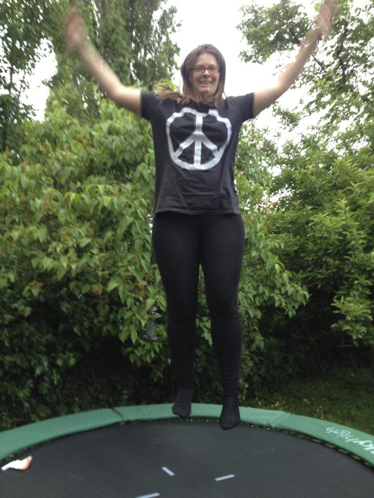 trampolining