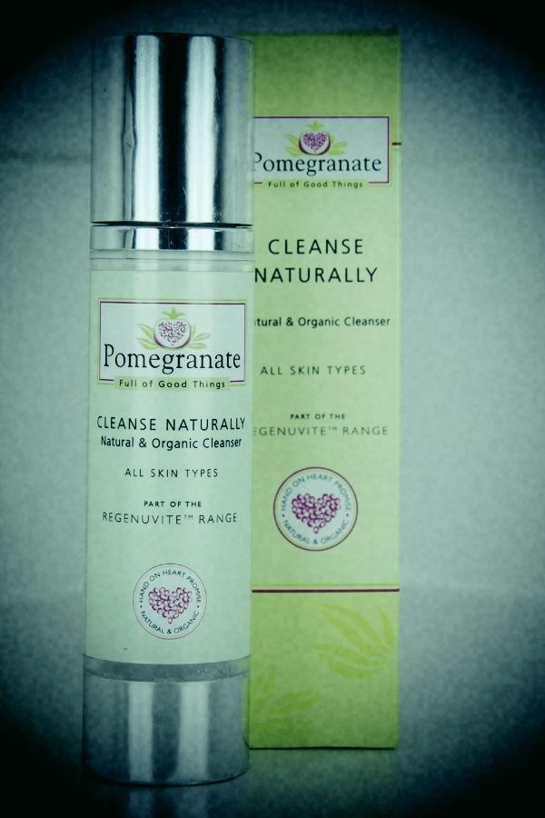 pomegranate cleanse naturally natural facial spa at home