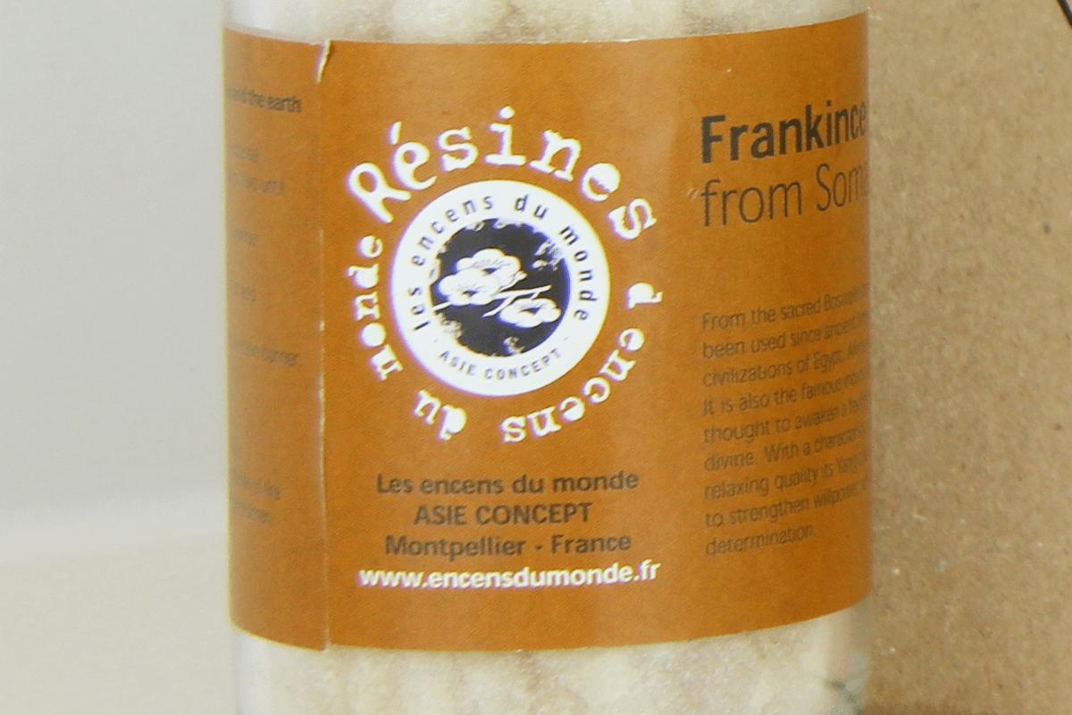 Frankincense resines du monde
